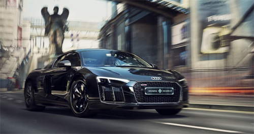 The Audi R8 Star of Lucis
