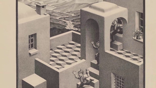 (C) All M.C. Escher works (C) the M.C. Escher Company B.V.- Baarn – the Netherlands