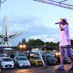 「ドライブインシアター2020」万博記念公園ではビッケブランカが新曲「ミラージュ」を披露