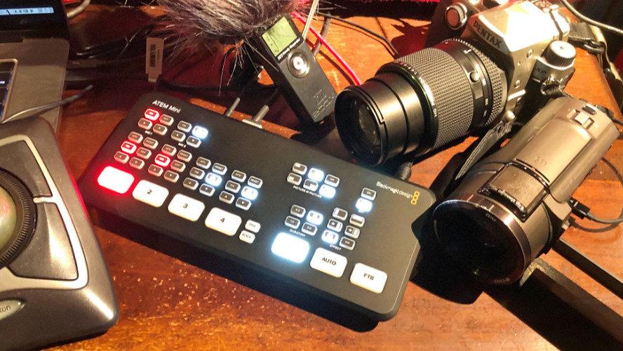 動画もシェアする時代。プラスワンでお手軽に放送品質で配信できる3モデル