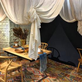 伝統の高島屋民藝展が3年振りに開催。知花くららによる展示ブースも